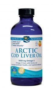 Arctic-D Cod Liver Oil* (Lemon 8 oz) Nordic Naturals