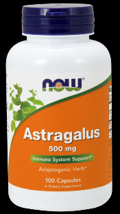 Astragalus 500 mg (100 Caps) NOW Foods