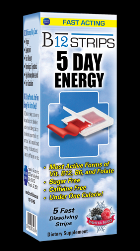 B12 Strips 5 Day Energy Essential Source