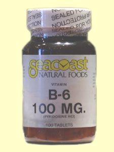 Vitamin B6 100mg (100 Tabs) Seacoast Vitamins