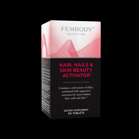 Hair Nails & Skin Beauty Activator with Bamboo and Silica(60 tablets)* Fem-body Nutrition