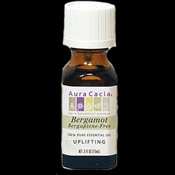 Bergamot BF Essential Oil .5 oz Aura Cacia