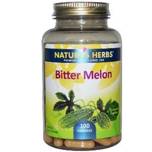 Bitter Melon Capsules (450 mg 100 Caps) Nature's Herbs