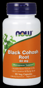 Black Cohosh 80 mg (90 Caps) NOW Foods