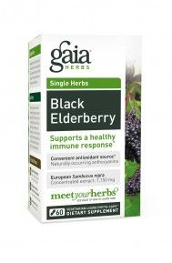 Black Elderberry (60 caps)* GAIA Herbs
