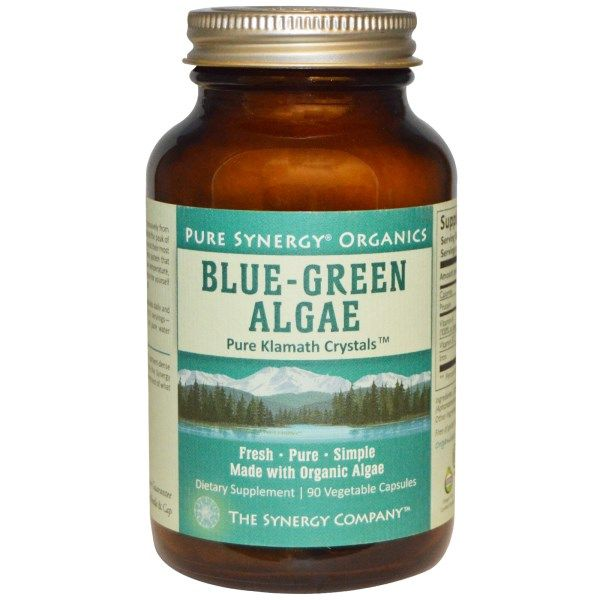 Organic Blue-Green Algae (120 capsules | 500 mg )* The Synergy Company