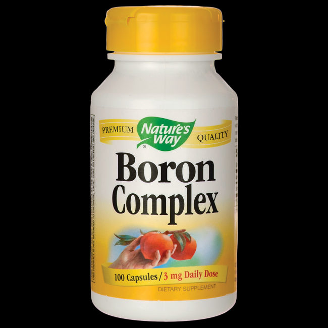 Boron Complex 3mg (100 caps) Nature's Way