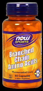 Branched Chain Amino Acids (60 Caps) NOW Foods