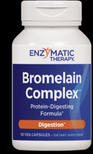 Bromelain Complex(90 veg capsules) Enzymatic Therapy