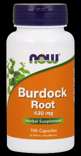 Burdock Root 430 mg (100 Caps) NOW Foods