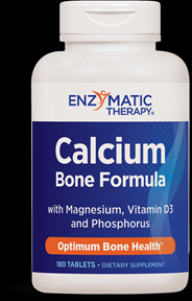 Calcium, Magnesium, Phosphorus & Vitamin D (180 tablets) Enzymatic Therapy