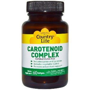Carotenoid Complex (60 Softgel) Country Life