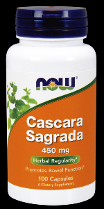 Cascara Sagrada 450 mg (100 Caps) NOW Foods