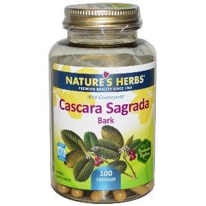 Cascara Sagrada Bark (450 mg 100 Caps) Nature's Herbs