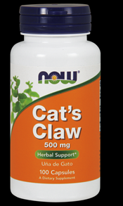 Cat's Claw 500 mg (100 Caps) NOW Foods