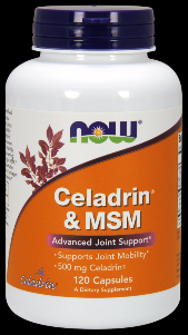 Celadrin & Msm (120 caps) NOW Foods