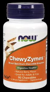 Chewyzymes (90 Chewables) NOW Foods
