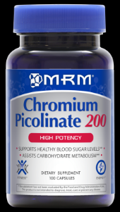 Chromium  Picolinate (200mcg-100 Vcap) Metabolic Response Modifiers