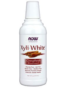 XyliWhite Mouthwash (Cinnafresh) (16 oz.) NOW Foods