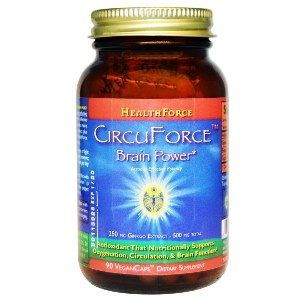 CircuForce Brain Power (Ginkgo Biloba) (90 vcaps)* HealthForce Nutritionals