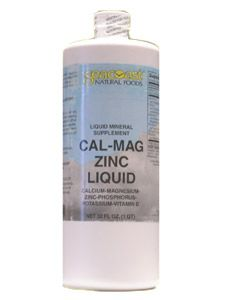 Cal Mag Zinc Liquid (32oz) Seacoast Vitamins