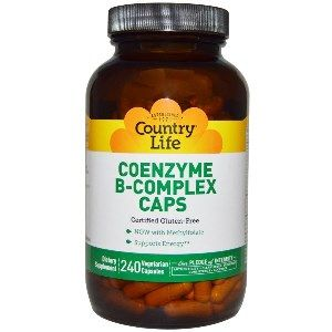 Coenzyme B-Complex Caps (240 Capsule) Country Life