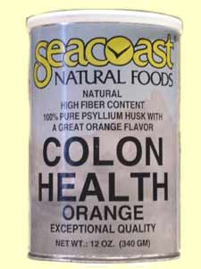 Colon Health, Orange Flavor (12 oz) Seacoast Vitamins