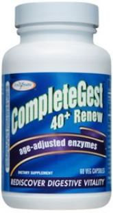 CompleteGest Renew (60 Veg Capsules) Enzymatic Therapy