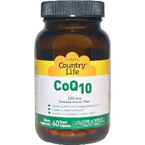 Co-Q10 100mg (60 vcaps) Country Life