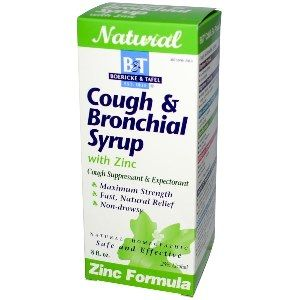 Cough & Bronchial with Zinc  ( 8 oz  ) Boericke & Tafel