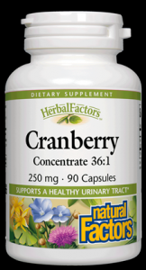 Cranberry Juice Extract (90 capsules)* Natural Factors