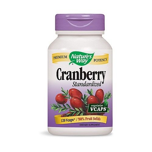 Cranberry Standardized 120 Vcaps Nature's Way