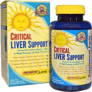 Critical Liver Support (90 veggie caps)* Renew Life