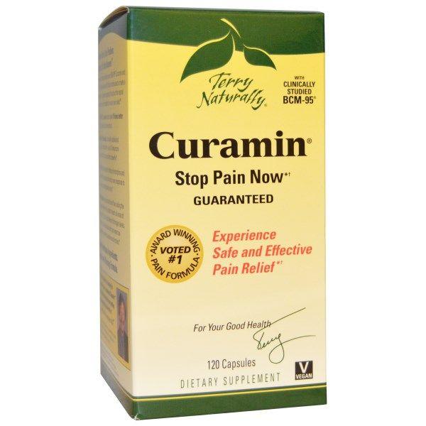 Curamin (120 Caps) EuroPharma
