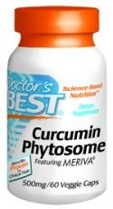 Curcumin Phytosome featuring MERIVA (500mg 180 Vcaps) Doctor's Best