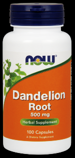 Dandelion Root 500 mg (100 Caps) NOW Foods