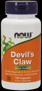 Devil's Claw Root 500 mg (100 Caps) NOW Foods