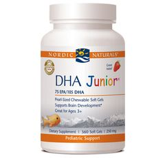 DHA Junior (360 softgels) * Nordic Naturals
