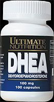 DHEA 100mg (100 Caps) Ultimate Nutrition