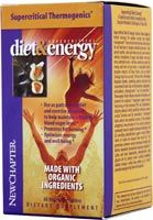 Supercritical Diet & Energy- Organic energy* New Chapter Nutrition