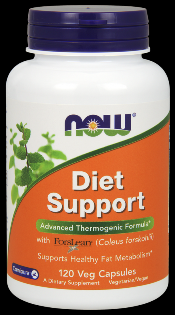Diet Support (120 vcaps) NOW Foods