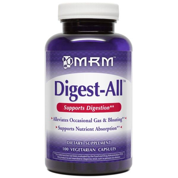 Digest-All 100% Plant Enzyme (100 VCaps) Metabolic Response Modifiers