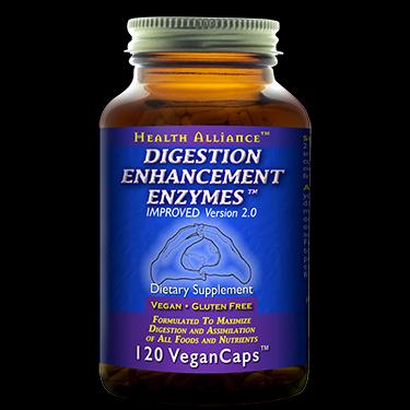 Digestion Enhancement Enzymes (120 Caps)* HealthForce Nutritionals