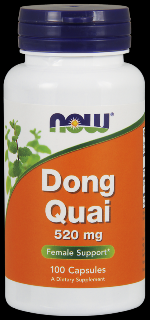 Dong Quai 520 mg (100 Caps) NOW Foods