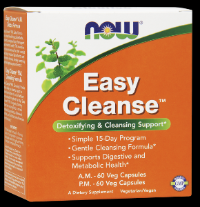 Easy Cleanse Kit (15 day Detox) NOW Foods