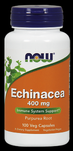 Echinacea 400 mg (100 Caps) NOW Foods
