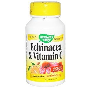 Echinacea & Vitamin C  ( 100 capsules ) Nature's Way