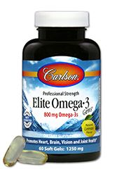 Elite Omega-3 Gems (180 soft gels) Carlson Labs