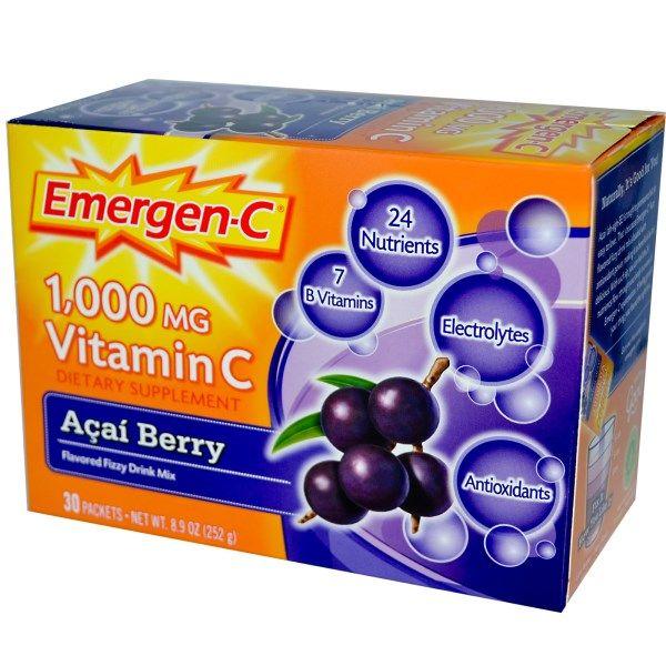 Emergen-C Acai Berry (30 Packets) Alacer Corp.