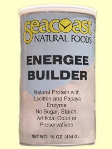 Energee Builder Protein Powder (16 oz) Seacoast Vitamins